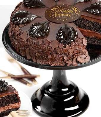 Surprising Chocolate Mousse Torte Birthday Cake Fast Gifts Birthday Cards Printable Giouspongecafe Filternl