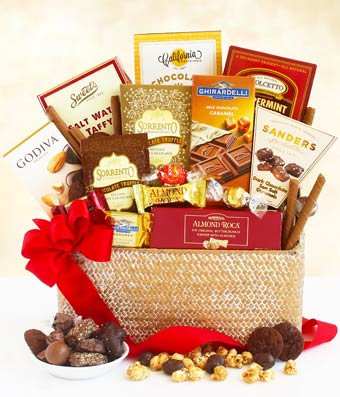 & The Greatest Chocolate Gift Basket - Fast Gifts