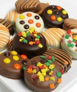 12 Fall Chocolate Covered Oreos