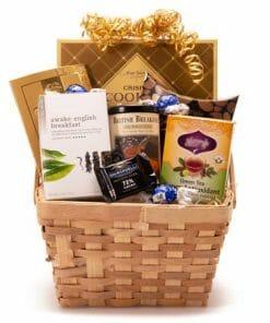 Chocolate Tea Gift Basket