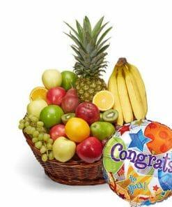 Congratulations Fruit Basket