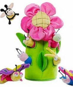 Flower and Bees Newborn Gift Basket