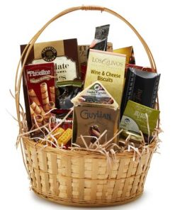 Generous Snack Cookie Gift Basket