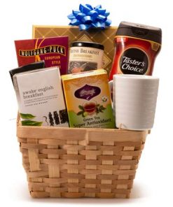 Get Up Coffee And Tea Basket