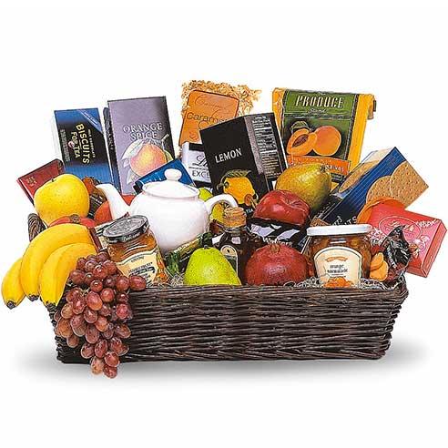 Gourmet Tea Gift Basket