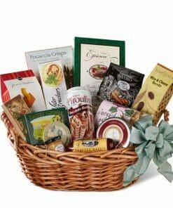 Sausage and Cheese Gift Basket