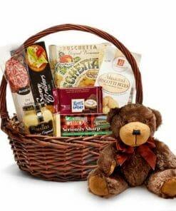 Sausage Cheese Basket And Bear