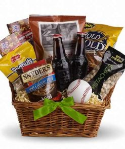 Sporty St Patricks Day Gift Basket