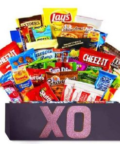 Ultimate Chips and Candy Gift Basket
