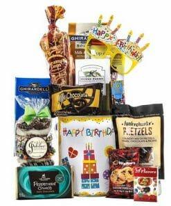 Jubilee Birthday Gift Basket