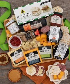 Send This Elegant Gourmet Meats And Cheeses Gift Tray