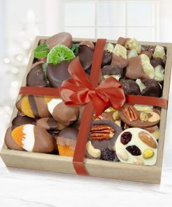 Send A Chocolate Covered Dry Fruit Basket