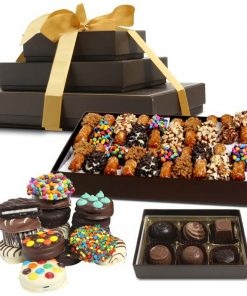 Send A delicious Chocolate Dipped Goodies Gift Tower