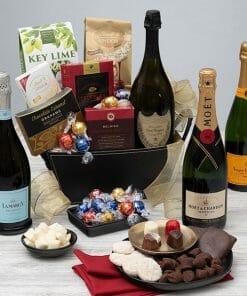 Send Champagne & Truffles Gift Basket