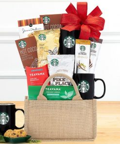 Send A Coffee And Tea Gourmet Gift Box Today