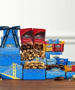 Send This Ghiradelli Chocolate Gift Tower Today