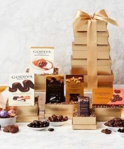 Send A Godiva Chocolate Gift Tower This Season