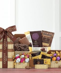 Send This Wonderful Chocolate Gift Tower For Any Occasion