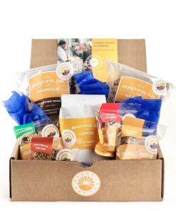 Send A Coffee And Granola Gift Basket