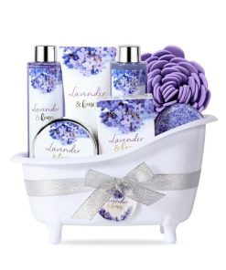Lavender and Honey Spa Gift Set Just for Her
