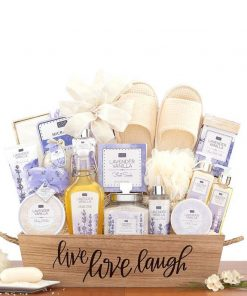 Send This Lavender Bath And Spa Gift Set