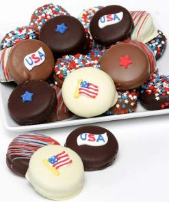 Send This Tasy Chocolate Covered Cookies Gift Tin Today