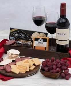 Send The Red Wine Countryside Gourmet Basket To Someone Special