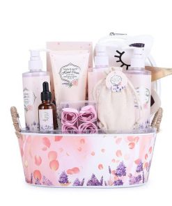 Bath and Body Spa Gift Basket