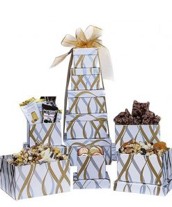 Send This Wonderful Chocolate Gift Tower This Christmas