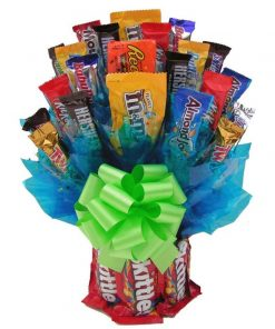 Send A Candy Basket Today