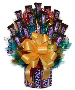 Send Snickers Candy Basket Today